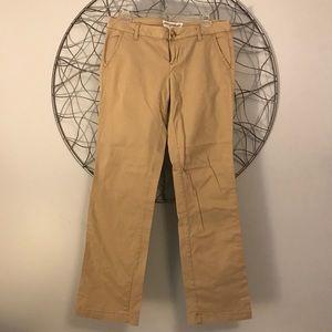 Aeropostale straight leg khakis